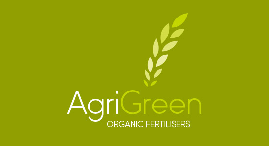 Organic Green Fertiliser Logo Design