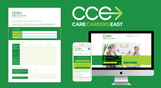 Care Careers East Brand Development