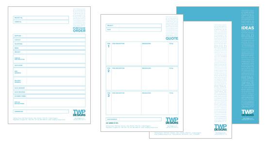 TWP Branding project