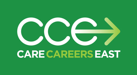 Care Careers East Logo website and Digital Marketing