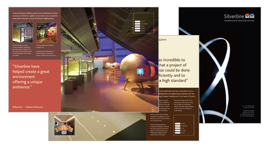 Silverline Corporate Brochure Design