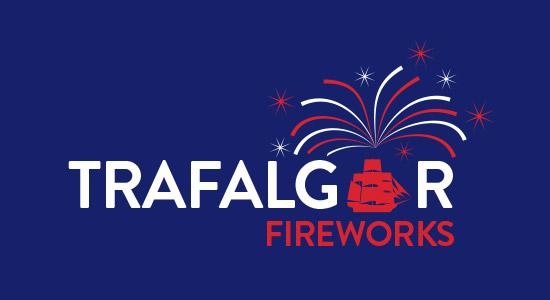 Trafalgar Firework Logo Design