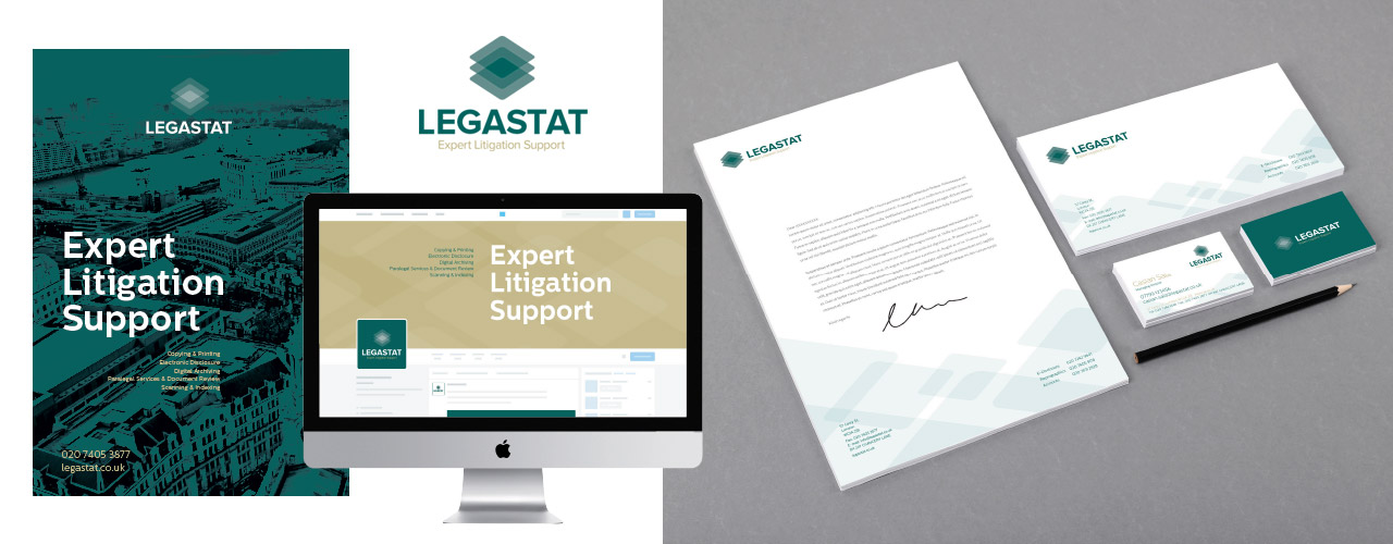 Corporate Identity Design for Law and Litigation services