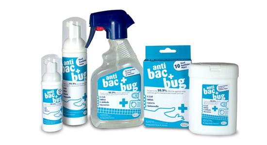 Anti bacterial packaging design and artwork