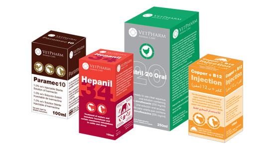 VetPharm pharmaceutical veterinary packaging design and artwork
