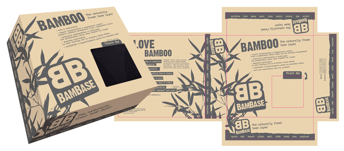 Bambase box design