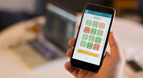 Example of Smart Home app UX UI Design