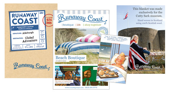 Suffolk Freelance Graphic Design Project for Runaway Coast