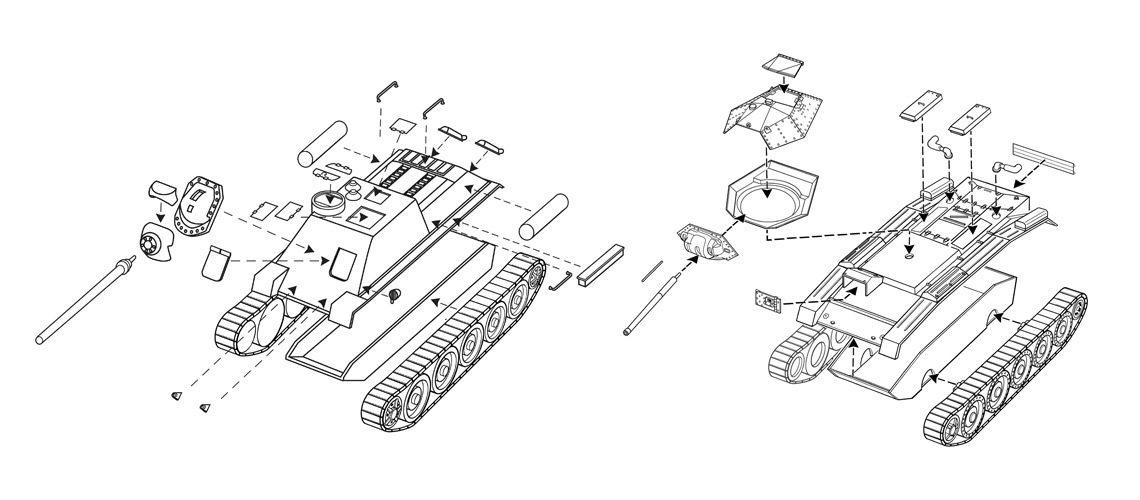 Product Instruction Illustrations
