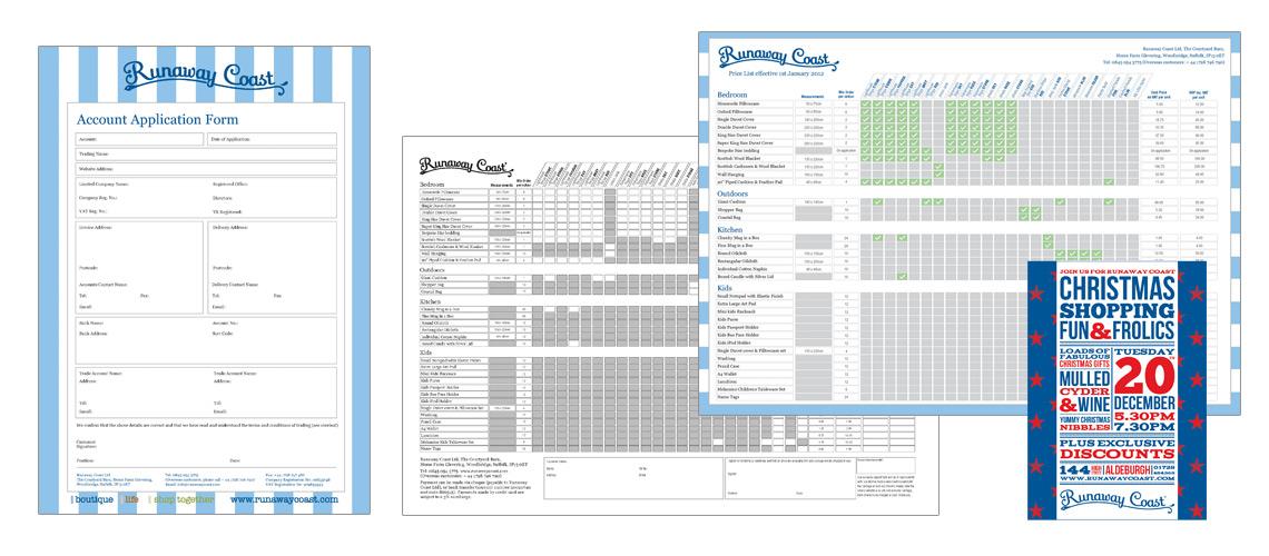 Company Literature Design for Trade Customers