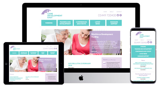 Care Development East Website