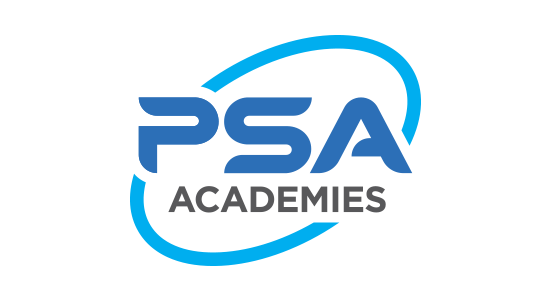 PSA Academies Logo Design