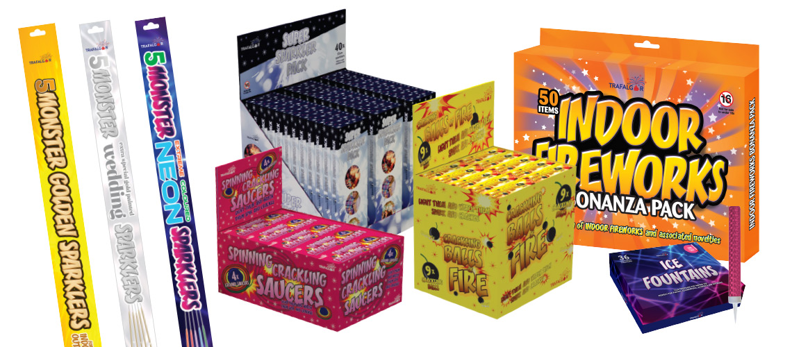 Firework Pack Design for Suffolk and Norfolk based company