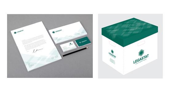 Box creative concept