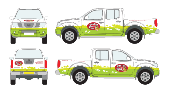Vehicle Graphics for Nissan Navara