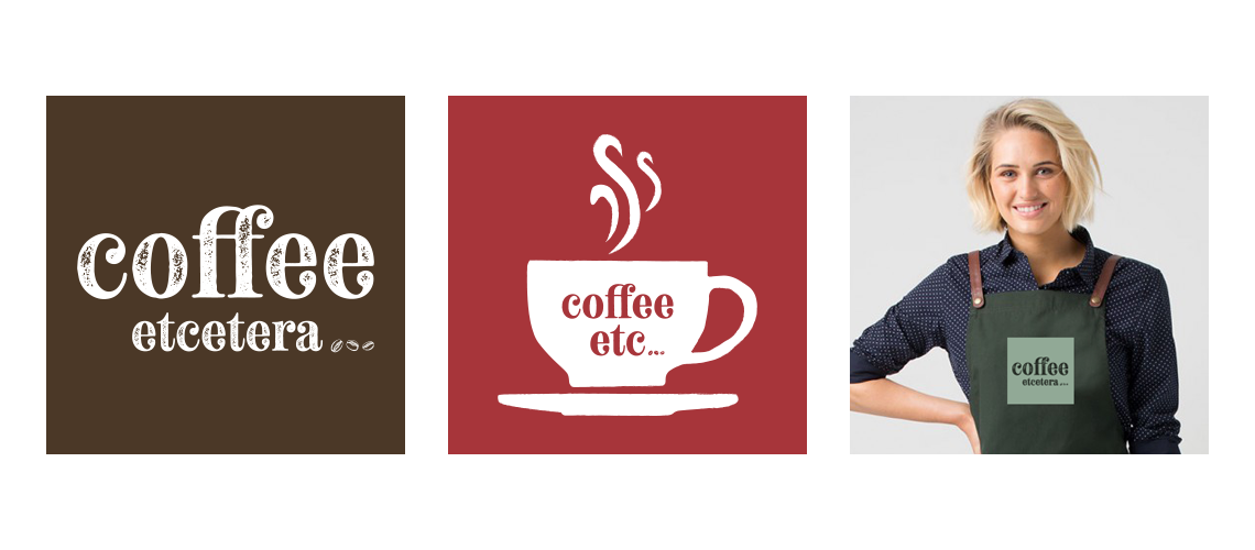 Logo design for Suffolk coffee shop