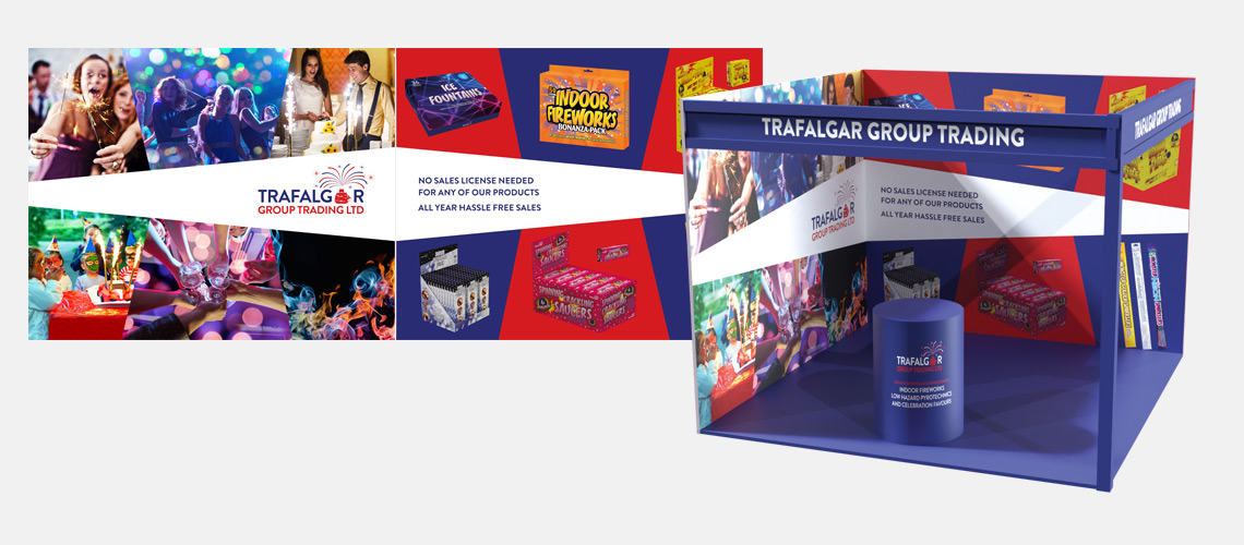 UK trade exhibition stand design