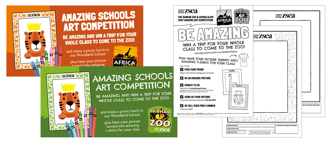 Zoological Society of East Anglia School Art Competition