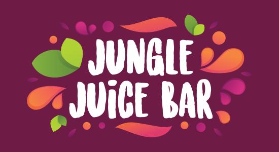 Jungle Juice Bar Logo Design