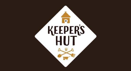 Keepers Hut Logo Design