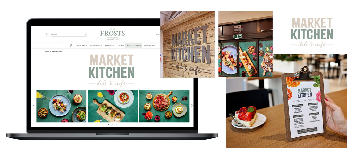 Kitchen Deli Cafe Shop Signage Design